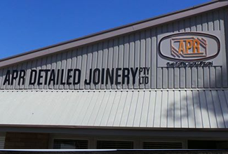New signage for APR factory